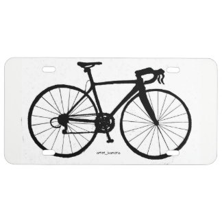 Men's Bicycle license plate