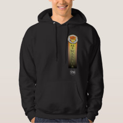Men's Basic Hooded Sweatshirt with Mickey & Friends Trick-or-Treat for Halloween design