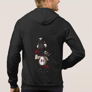 Men's Black Hoodie with KGF Logo