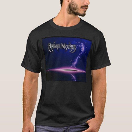 Men's Black Lightning/Logo T T-Shirt