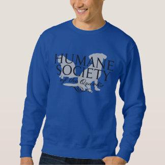 Men's Blue Basic Sweatshirt