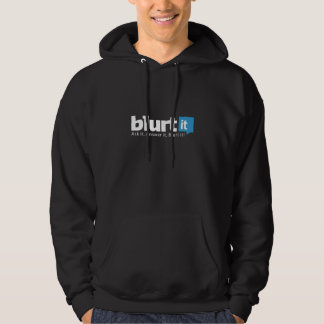 Mens Blurtit Hooded Sweatshirt