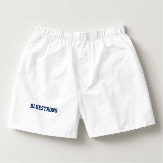 """Men's Boxercraft """"BLUESTRONG"""" Cotton Boxers"""