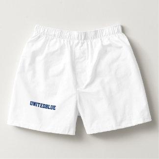 "Men's Boxercraft ""UNITEDBLUE"" Cotton Boxers"