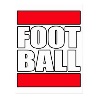 Mens boys Football NFL futball Soccer t shirt tee Postcard