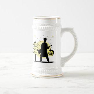 Men's  / Boy's Rocking  Custom Graduation Mug
