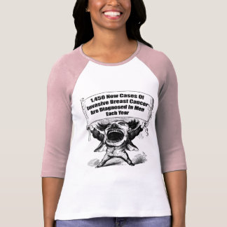 Mens Breast Cancer T Shirts
