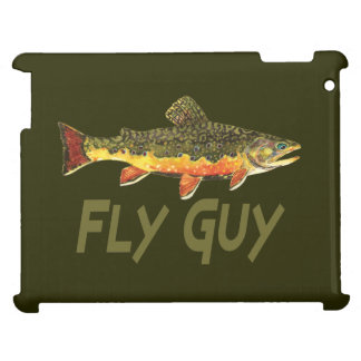 Men's Brook Trout Fly Fishing Cover For The iPad 2 3 4