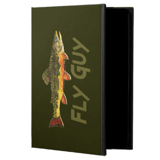 Men's Brook Trout Fly Fishing Powis iPad Air 2 Case