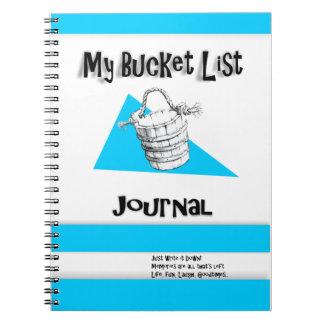 Men's Bucket List Journal Note Book