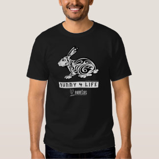 Men's Bunny 4 Life Black T Shirts