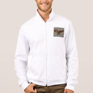 men's California fleece Track  jacket