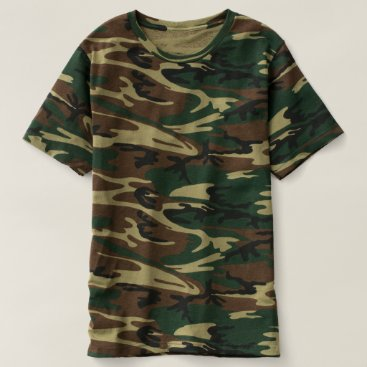 Beach Themed Men's Camouflage T-Shirt