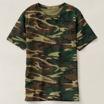 Men's Camouflage T-shirt by creativeconceptss at Zazzle