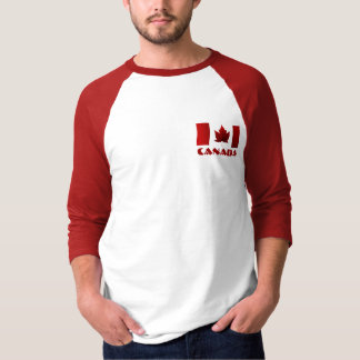 Men's Canada Flag Baseball Jersey Souvenir Shirt