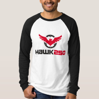 Men's Canvas Long Sleeve Raglan Hawk 250 T-Shirt