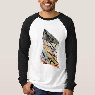 Men's Canvas Long Sleeve Raglan t-shirt Lg