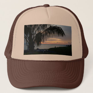 Mens cap with Maui Sunset