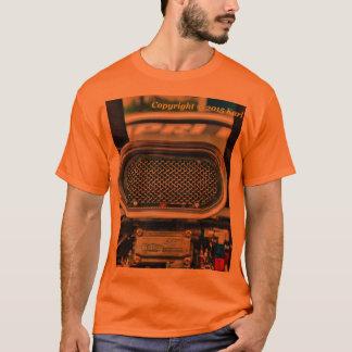 Men's car engine t-shirt