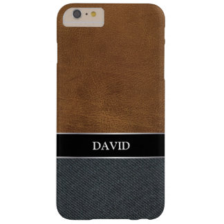 Men's Casual Canvas Custom Name iPhone 6 Plus Case