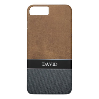 Men's Casual Canvas Custom Name iPhone 7 Plus Case