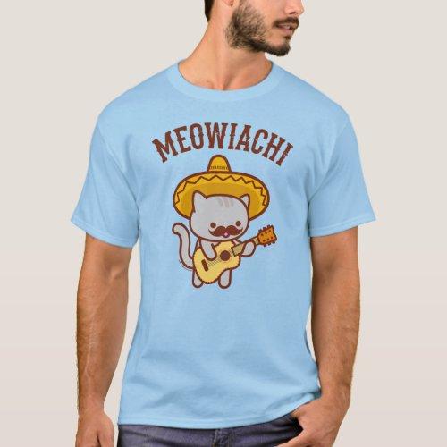 Mens Cat T_Shirt _ MEOWIACHI