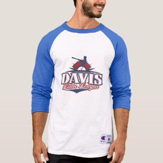 Men's Champion 3/4 Sleeve Shirt, American League T-Shirt