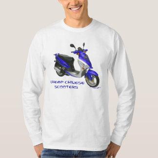 Men's Cheap Chinese Scooter Long Sleeve Shirt