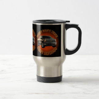 Men's Chevy Silverado Truck Mug. Travel Mug