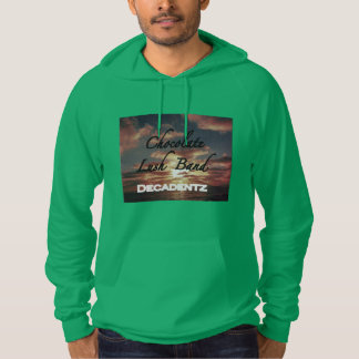 Men's Chocolate Lush Irish Green pullover hoodie