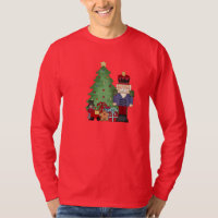 Mens Christmas Nutcracker Holiday t-shirt