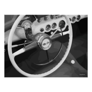 Men's Classic Car Car Poster