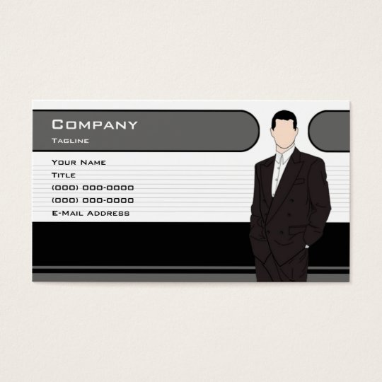 Men S Clothing Business Card