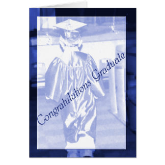 Men's College Graduation Greeting Card