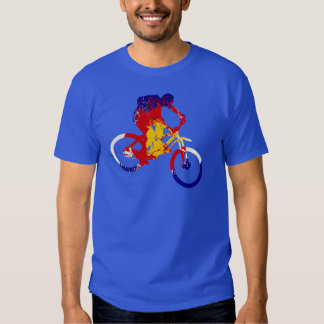 Men's Colorado flag mountain biker Shirts