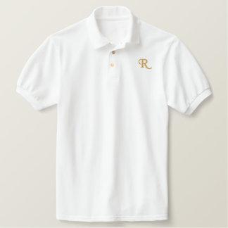 Mens Cool Custom Embroidered Monogram Polo Shirt