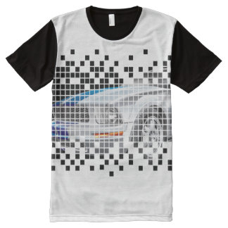 Men's Cool Mustang All-Over Print T-shirt