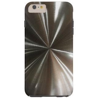 Men's Cool Silver Look Tough iPhone 6 Plus Case