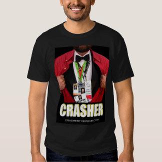 MEN'S CRASHER POSTER BLACK TEE