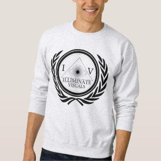 Mens - Crew Neck - IV Standard - Blk Logo Sweatshirt