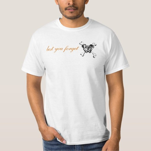 Men's Crossbones Logo Tee Shirt