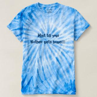 Men's Cyclone Blue Tie-Dye Fun T-shirt