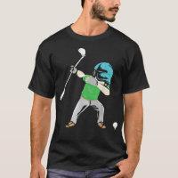Mens Dabbing Golf Player golfing hobby christmas T-Shirt