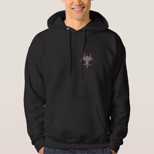 men's dark hoodie