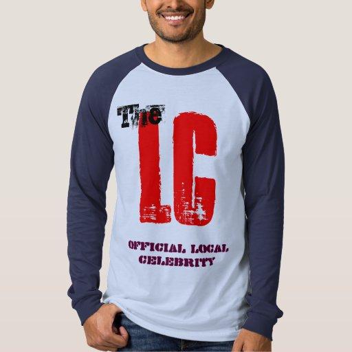 Mens Dark T-Shirt - Local Celebrity Fan Shirt