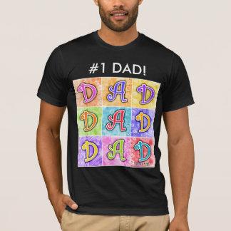 Men's Dark Tees - DAD Pop Art