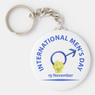 Men's Day Keychain