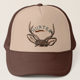 Mens Deer Hunter Trucker Hat