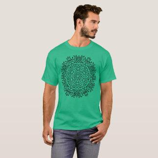 Mens designers tshirt with Mandala