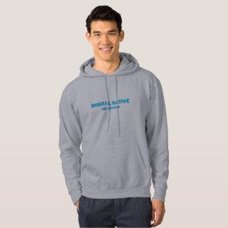 Men's DIGITAL NATIVE hooded sweatshirt